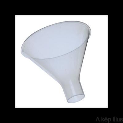 PORTÖLCSÉR műanyag(PP) 60°-os hajlásszögű, rövid, bő szárú, átmérő: 100 mm