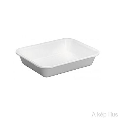 MŰSZERTARTÓ TÁL műanyag, mag: 40 mm, hossz: 190 mm, szél: 150 mm, 700 ml